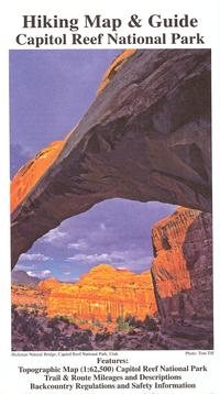Capitol Reef Hiking Map & Guide, NHA