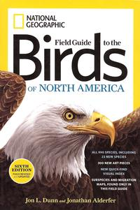 Birds, Field Guide to the Birds of North America