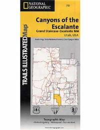 Canyons of the Escalante: National Geographic/Trails Illustrated