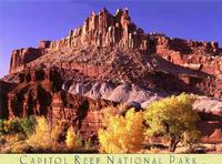 Capitol Reef Castle Poster