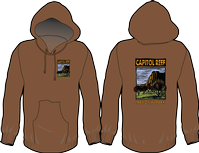 Capitol Reef Hooded Sweatshirt