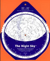The Night Sky Planisphere