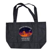 Night Sky Canvas Bag